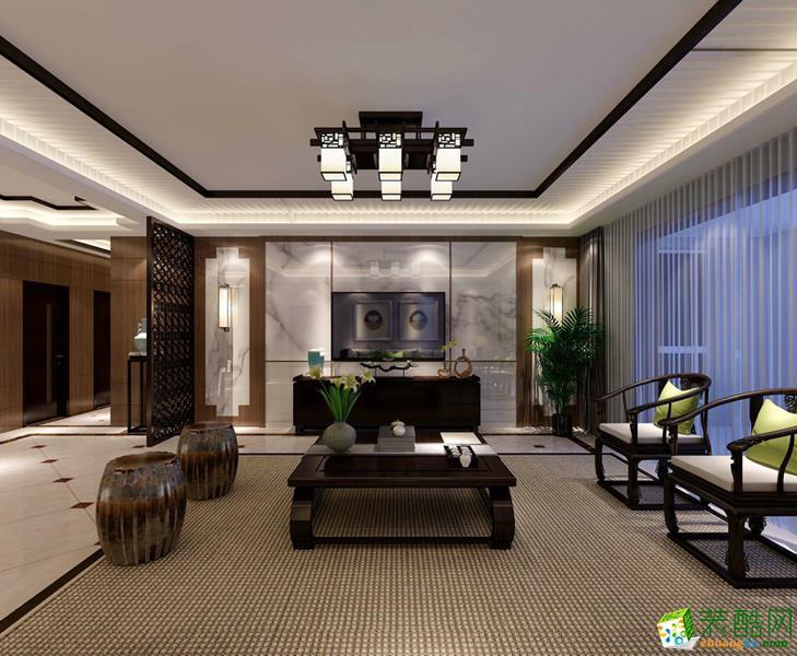 扬州左右装饰-中式四室装修效果图