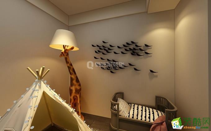 俏业家|保利高尔夫华庭四室|港式风格装修实景案例图赏析。