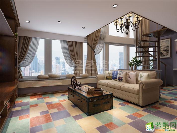 【南通星艺装饰】中南云客公馆126方三室两厅装修设计效果图