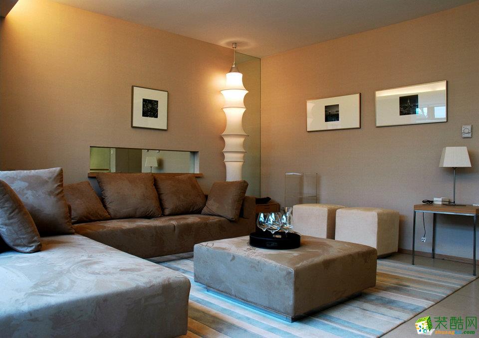 130平米现代简约风格四室两厅装修案例图|家和装饰