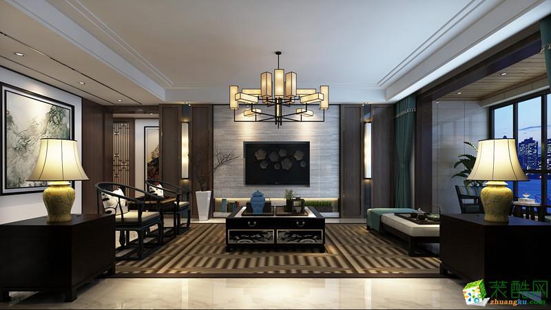 利川金蚂蚁装饰-新中式三室装修效果图