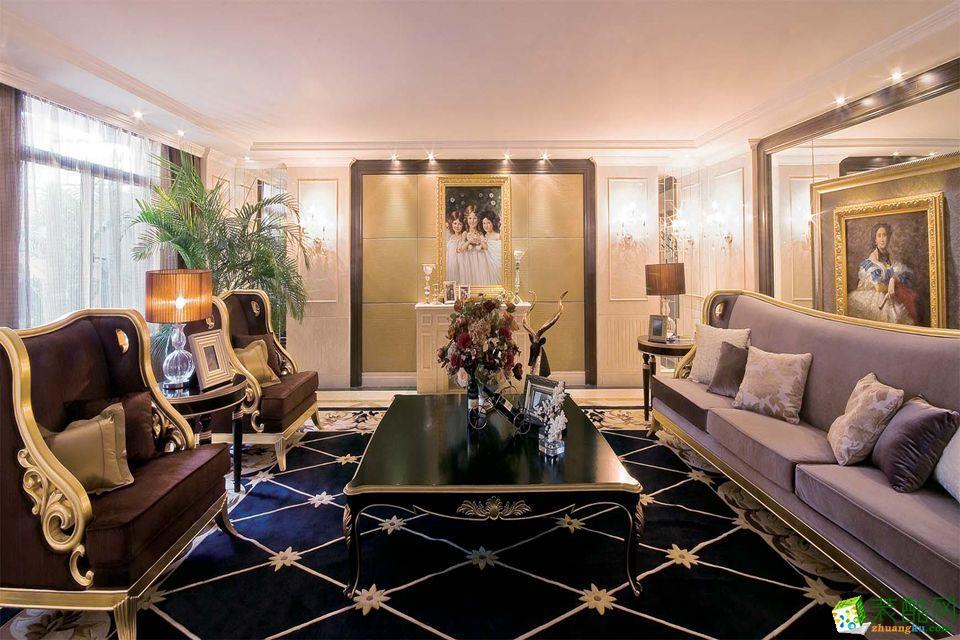 后现代175平米三室两厅装修案例图|众信装饰