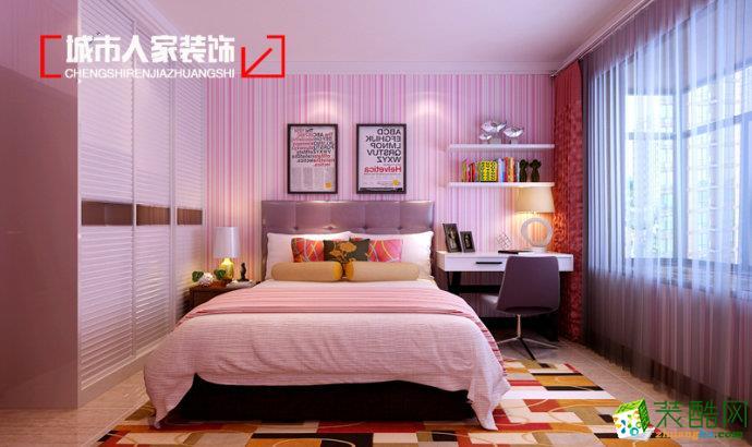 淄博城市人家| 凤凰国际140平中式风格装修设计效果图案例