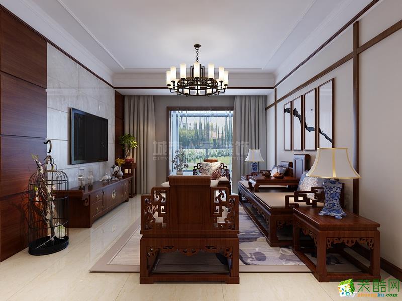 【西安城市人家】鑫苑大都汇123�O简约风格设计案例