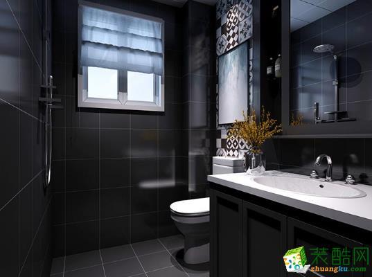 西安盛徽装饰-现代简约一居室装修效果图