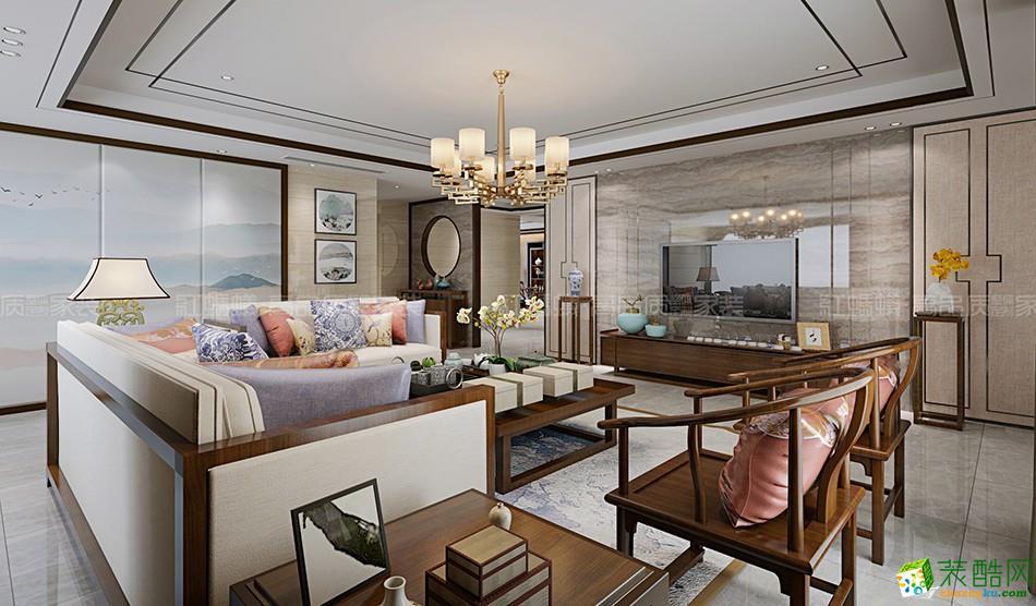 【苏州红蚂蚁】凤凰熙岸140方美式风格三居室装修设计效果图