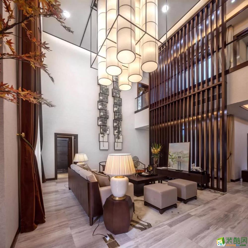 【盛典億家裝飾】260㎡新中式別墅裝修效果圖
