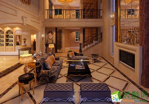 混搭风格660平米别墅住宅装修实景案例图|名匠装饰