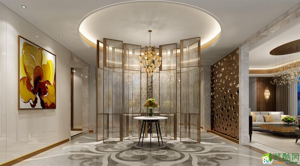 420平米装修案例现代轻奢设计效果图  下一套案例  空间类型:中式风格