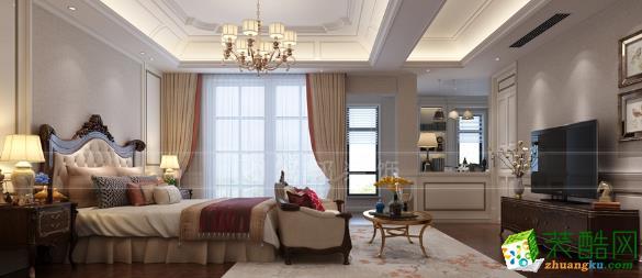 无锡润邦装饰-长泰国际美式别墅装修效果图