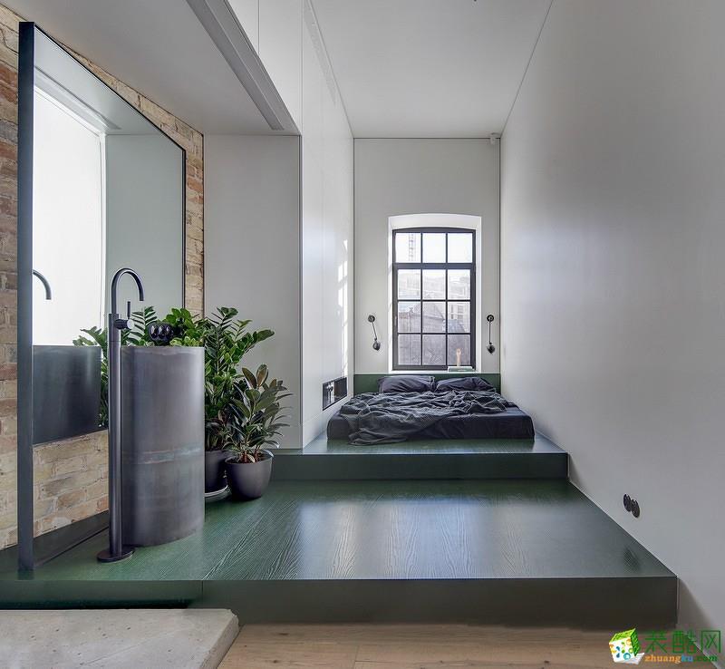 鼎盛装饰―74�O现代风格两居室装修设计效果图