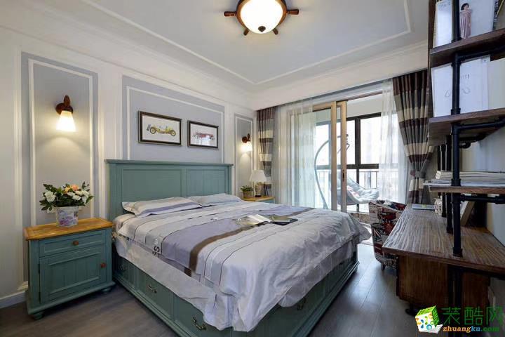 卧室  豪迪装饰―江宏花园120平美式风格