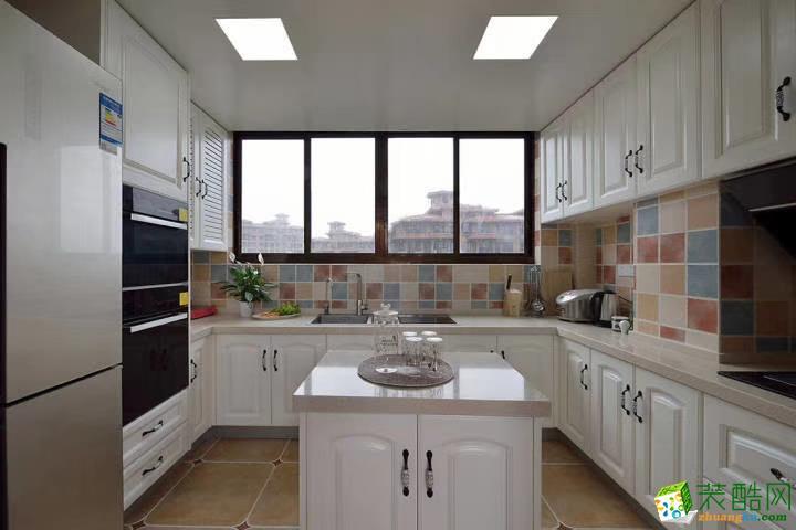 厨房  豪迪装饰―江宏花园120平美式风格