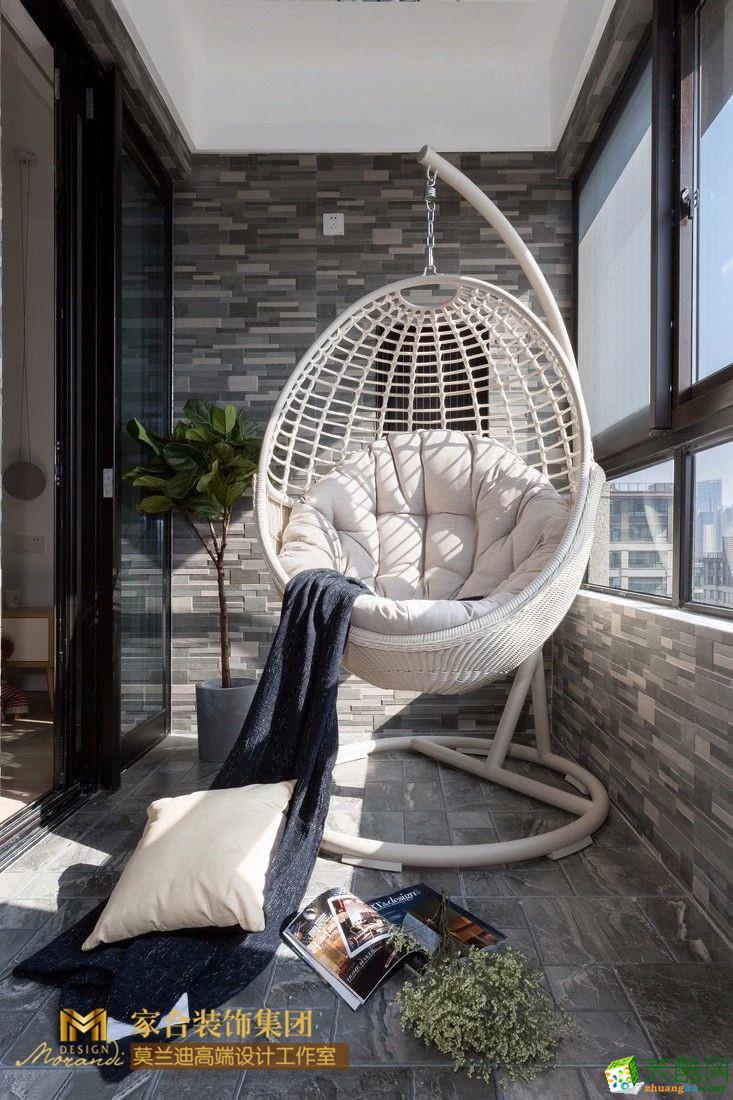 阳台  118�O现代风三居 打造独一无二的阳光房