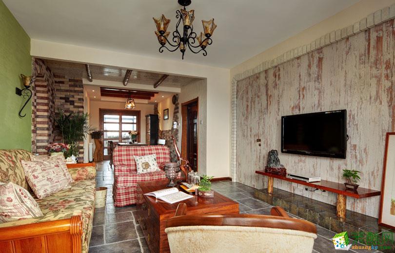 混搭风格164平米别墅住宅装修实景案例图|幸福家装饰