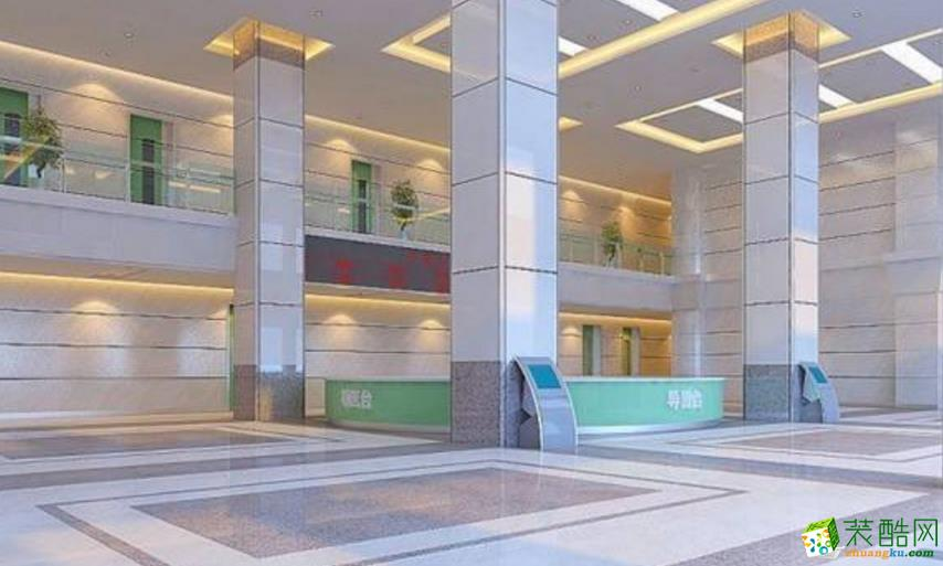 混搭风格3000平米儿童医院装修实景案例图|华缘装饰