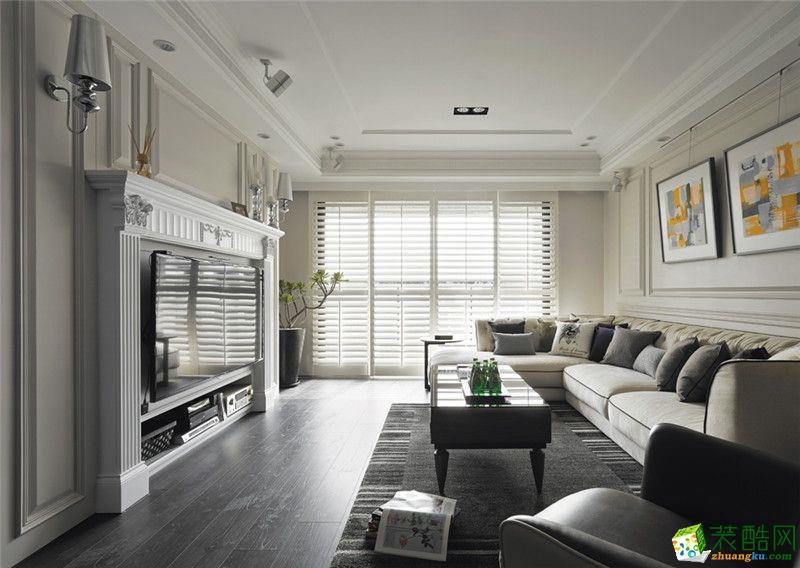 欧式风格156平米四室两厅装修实景案例图|喜匠装饰