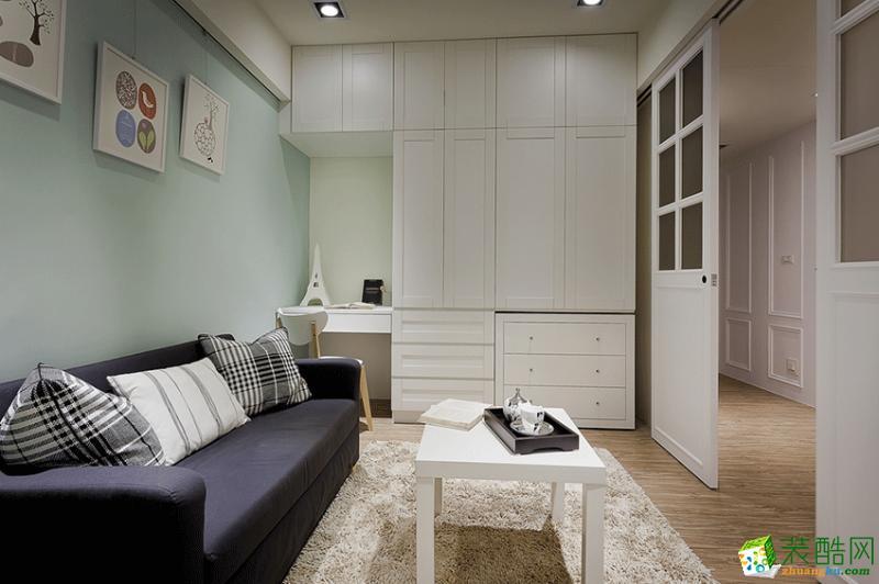 恒昌装饰 | 广厦天第  一居室  现代风格 装修效果图