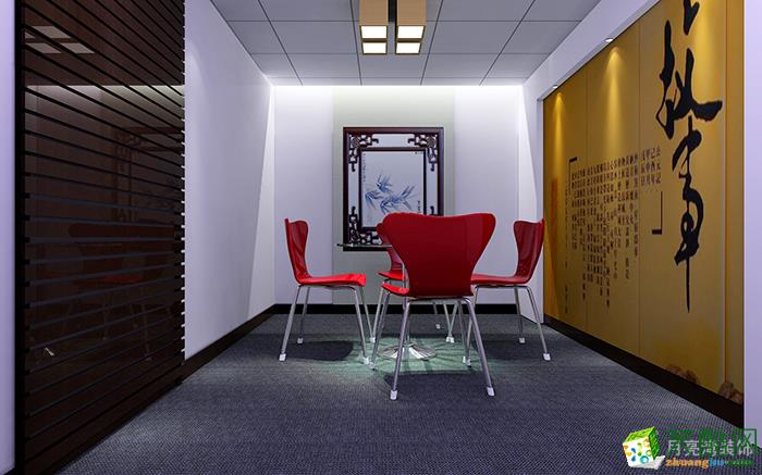 680平米办公室装修实景案例图|月亮湾装饰