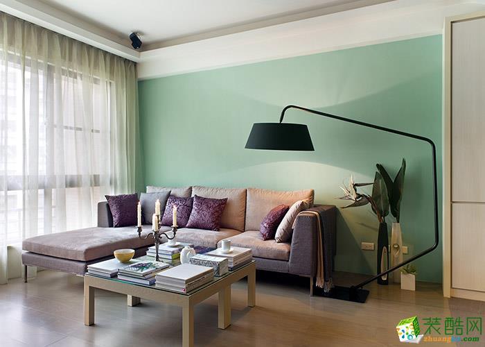 简约风格99平米三室一厅装修实景案例图|生活家装饰