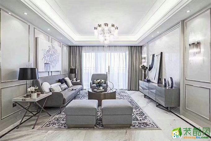 135平米法式风格四室两厅装修实景案例图|新空间装饰