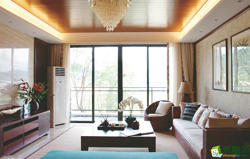 混搭风格182平米跃层住宅装修实景案例图|强匠装饰