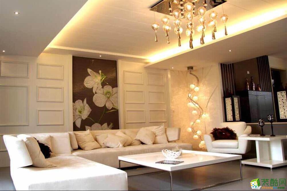 纵凯装饰—122方跃层住宅现代风格装修设计效果图