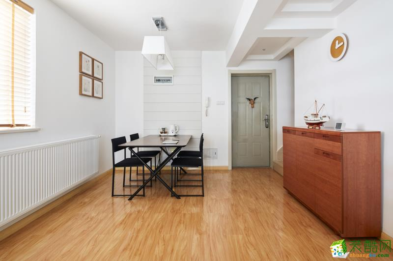 思达尔装饰―80�O简约风格两居室装修设计效果图