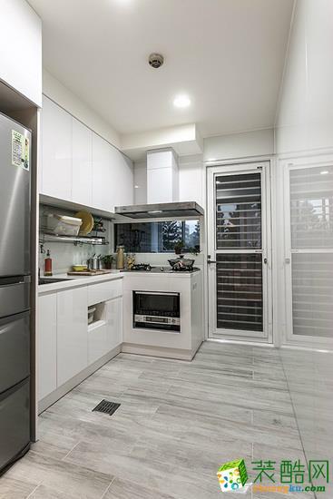 振宇装饰―79�O美式风格两居室装修设计效果图
