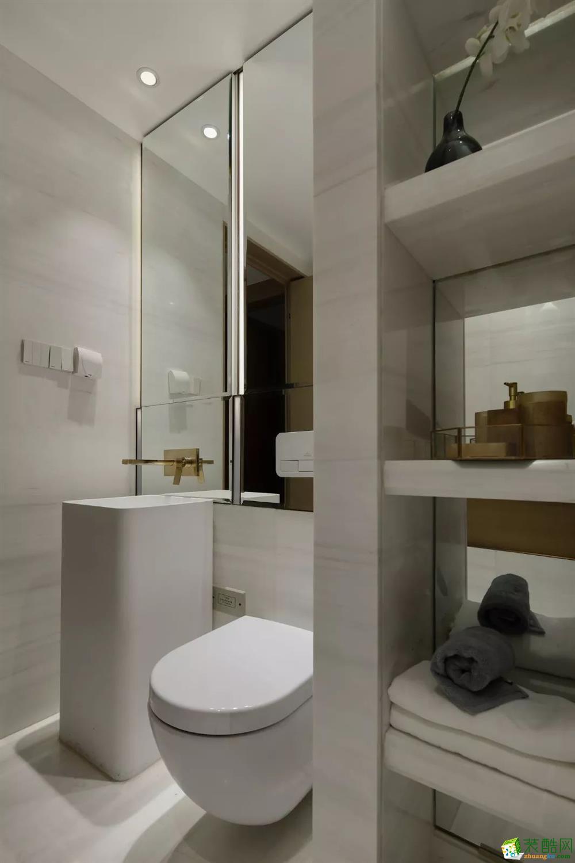 纵横道装饰―88�O现代简约两居室装修设计效果图