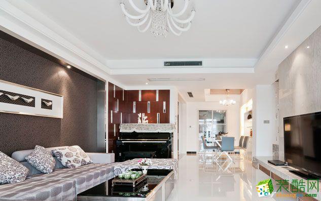 欧式风格148平米四室两厅装修实景案例图|远诺装饰
