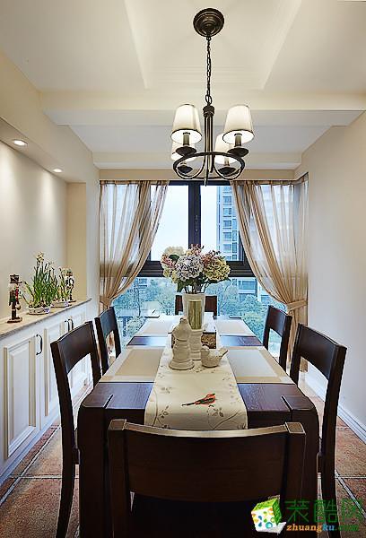 鸿恩新天地130平米现代风格三室两厅装修实景案例赏析|天怡美装饰