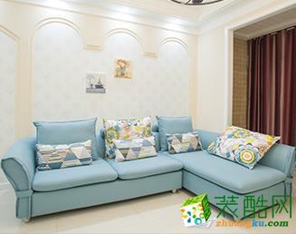 桂林中宅裝飾—82㎡韓式田園風格兩居室裝修設計效果圖