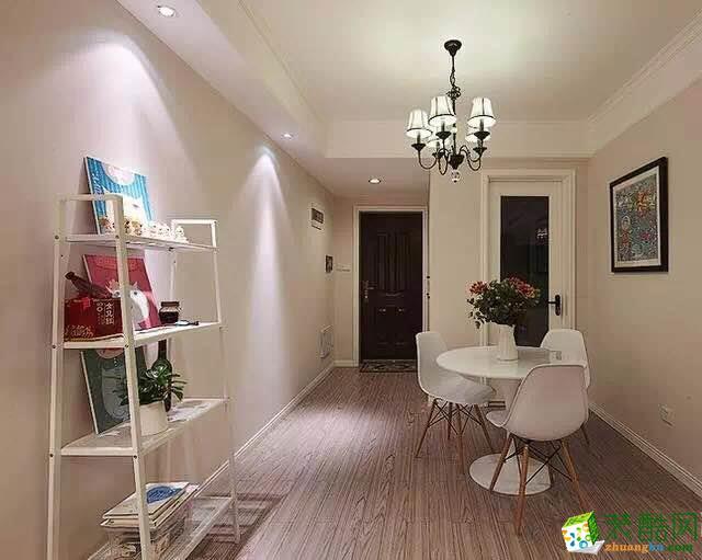 【木林森装饰】103平米三室两厅效果图