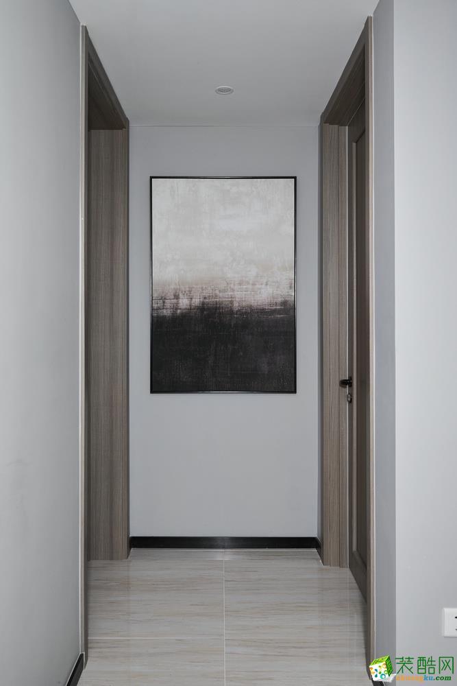 汕尾精雕装饰-北欧三居室装修效果图