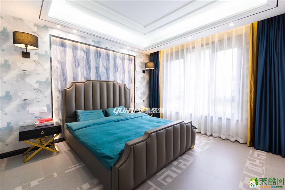 龙湖两江新宸200平米豪华风格跃层住宅赏析---远景装饰