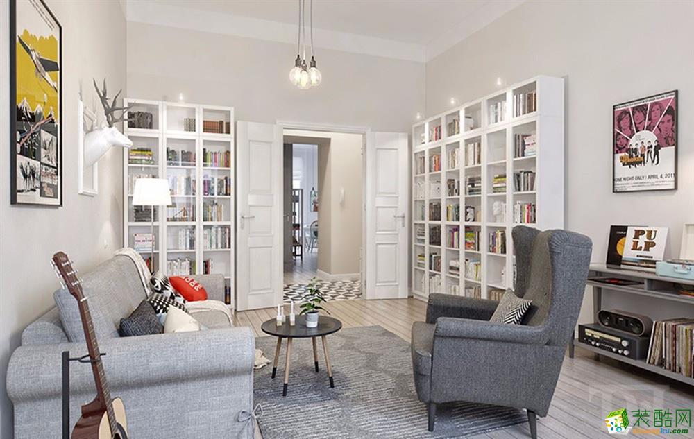 【南京天地和家裝】恒大綠洲北歐風格兩室兩廳設計圖