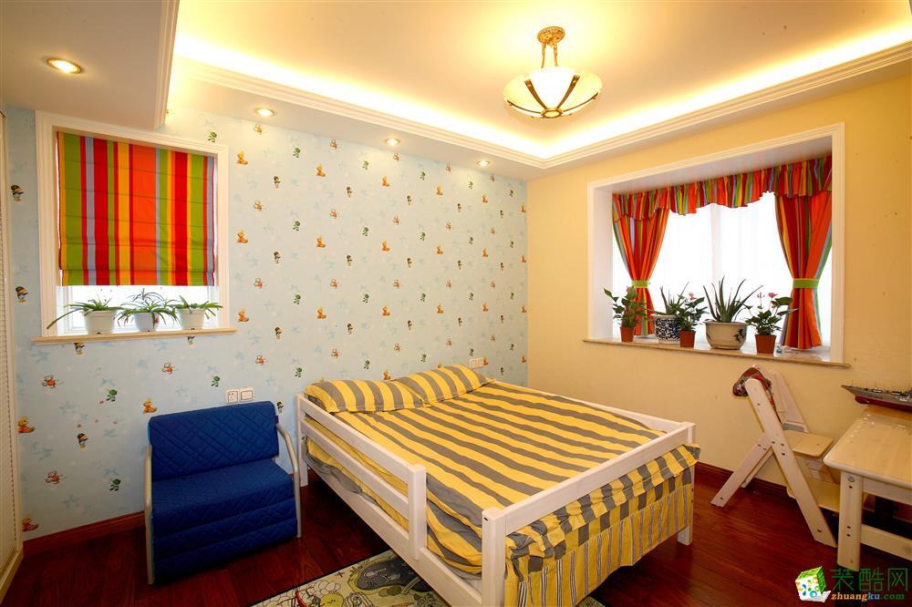 阳光南滨140平米(简欧风格)两居室案例赏析赏析--新思路装饰