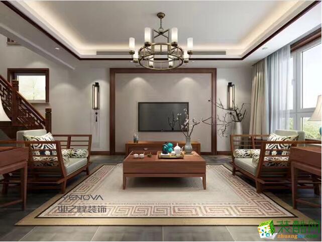 业之峰装饰-169�O九号别墅东南亚风格装修