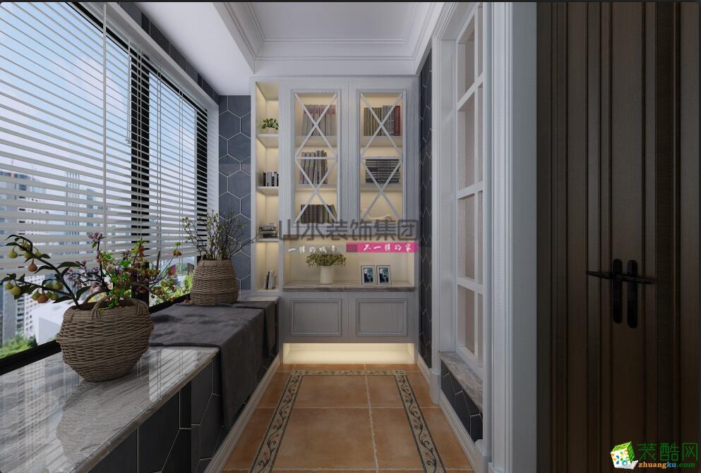 祥源文旅城143平米美式风格设计案例