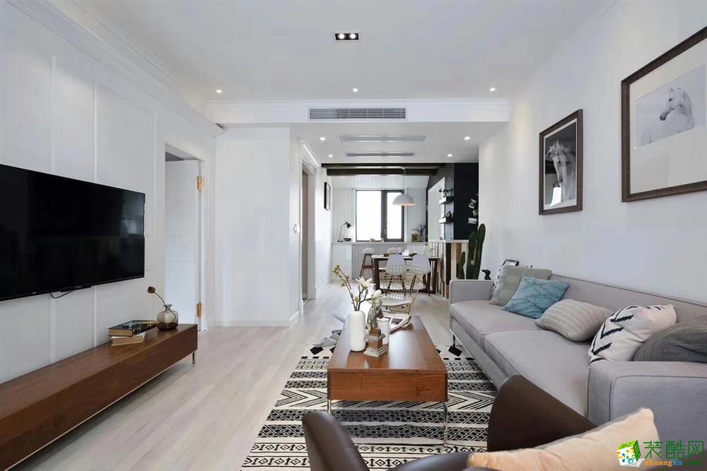 客厅  豪迪装饰―海昌天澜101平北欧风格
