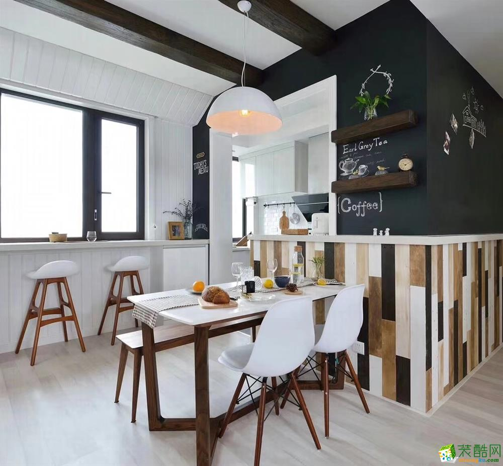 餐厅  豪迪装饰―海昌天澜101平北欧风格
