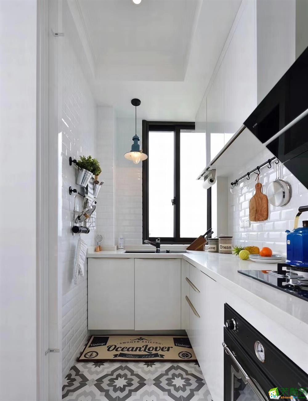 厨房  豪迪装饰―海昌天澜101平北欧风格