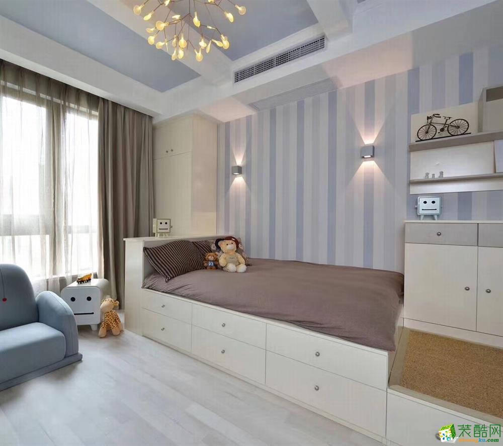 儿童房  豪迪装饰―海昌天澜101平北欧风格