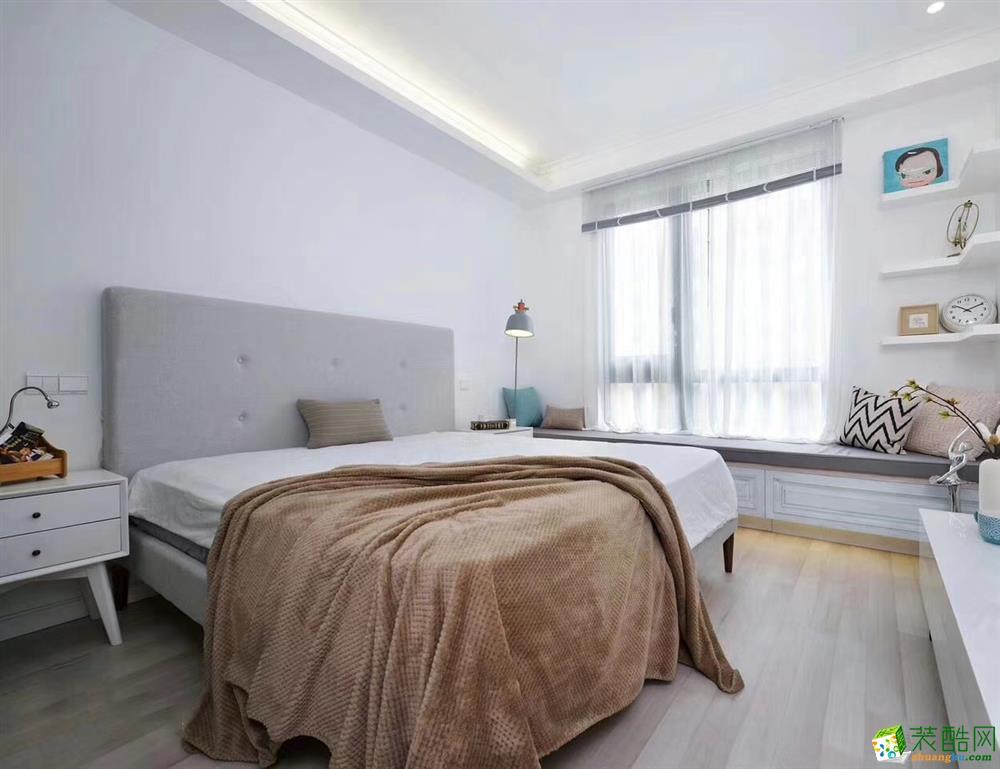 卧室  豪迪装饰―海昌天澜101平北欧风格