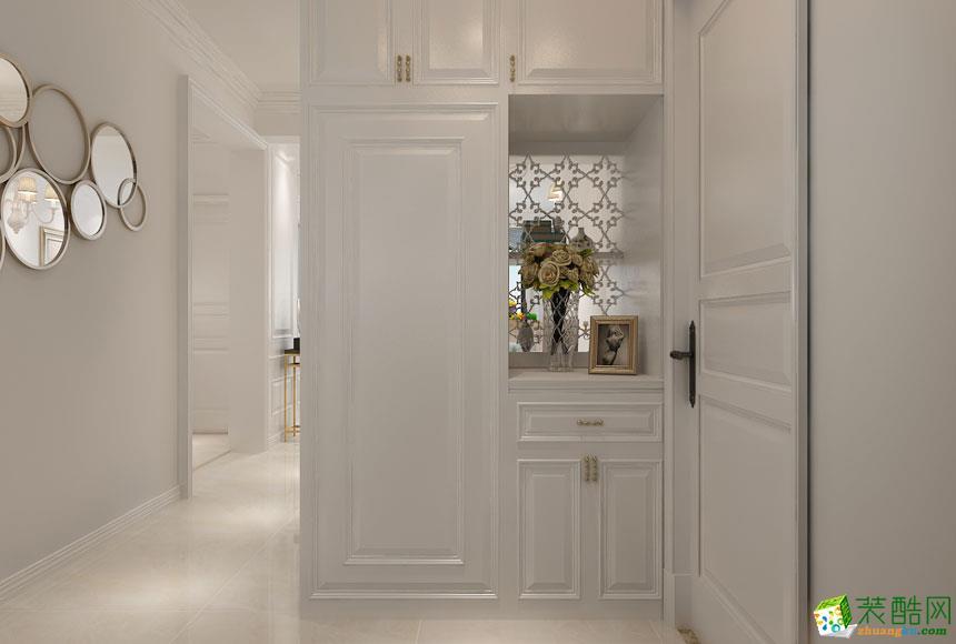无锡元洲装饰-美式三居室装修效果图