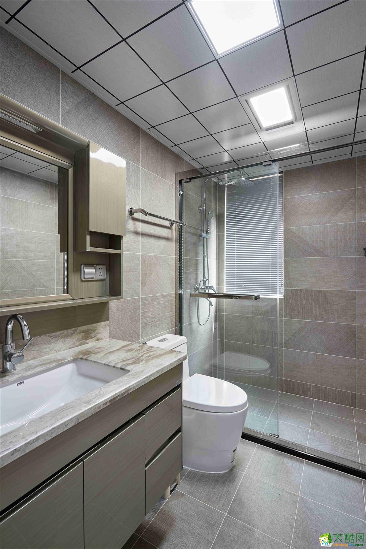 卫浴  【恒彩装饰】都景公寓130�O新中式风格,让心灵做个有氧呼吸