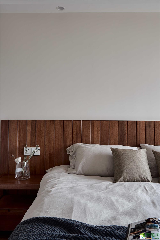 卧室  【恒彩装饰】都景公寓130�O新中式风格,让心灵做个有氧呼吸