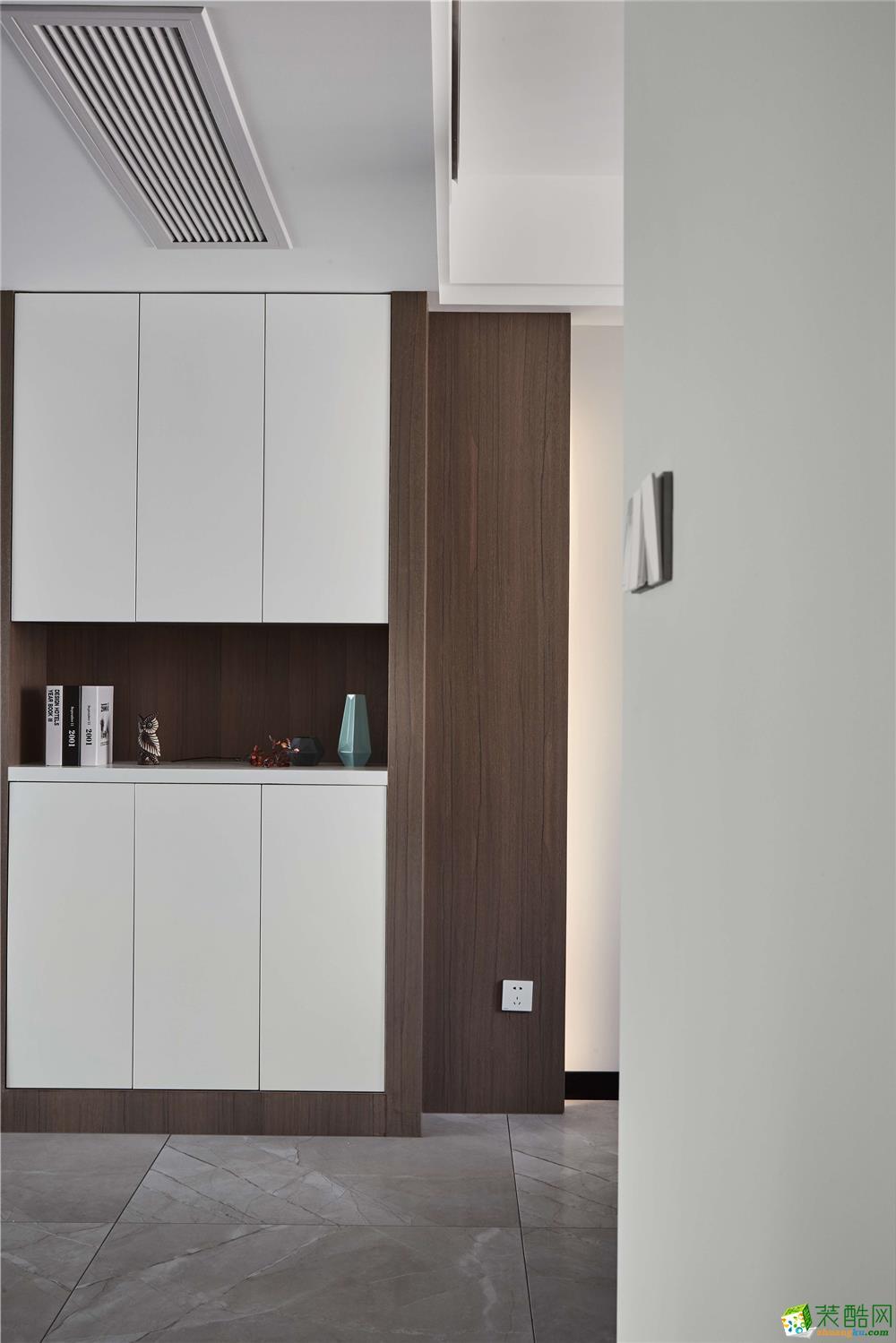 软装饰  【恒彩装饰】都景公寓130�O新中式风格,让心灵做个有氧呼吸