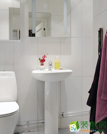 卫浴  松原福康装饰-北欧一室装修效果图